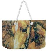 Study Of A Horse's Head Weekender Tote Bag