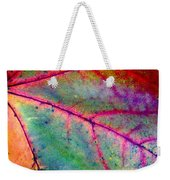 Study Of A Leaf Weekender Tote Bag