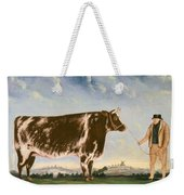 Study Of A Shorthorn Weekender Tote Bag