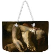 Study Of Feet And Hands, C.1818-19 Oil On Canvas Weekender Tote Bag