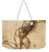 Study Of Figure To Battle Of Cascina Weekender Tote Bag