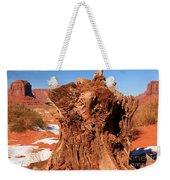 Stumped At Monument Valley Weekender Tote Bag