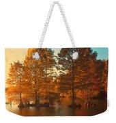 Stumpy Sunset Weekender Tote Bag