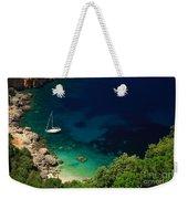 Stunning Beach Kefalonia Weekender Tote Bag