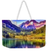 Stunning Reflections Weekender Tote Bag