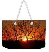 Stunning Stone Park Sunset Weekender Tote Bag
