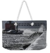 Sturgeon Bay After The Storm Weekender Tote Bag by Joan Carroll