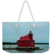Sturgeon Bay Lighthouse Weekender Tote Bag