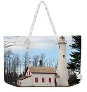Sturgeon Point Lighthouse Weekender Tote Bag