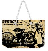 Sturgis Been There Done That Weekender Tote Bag
