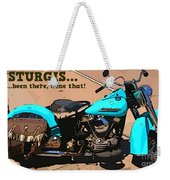Sturgis Motorcycle Rally Weekender Tote Bag