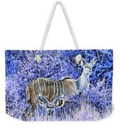 Styled Environment- Modern Kudus V3 Weekender Tote Bag