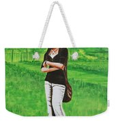 Stylish Miss Weekender Tote Bag
