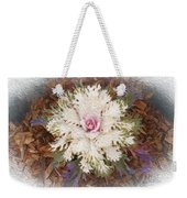 Stylized Cabbage Weekender Tote Bag