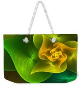 Stylized Philodendron Weekender Tote Bag