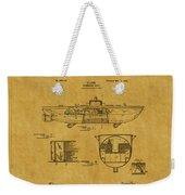 Submarine Patent 5 Weekender Tote Bag