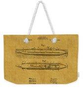 Submarine Patent 7 Weekender Tote Bag