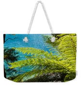 Subtropical Forest Of Abel Tasman Np In New Zealand Weekender Tote Bag