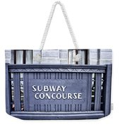 Subway Concourse At City Hall Weekender Tote Bag