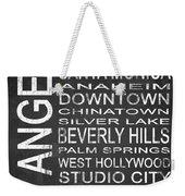 Subway Los Angeles 1 Weekender Tote Bag
