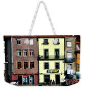 Subway - Porto Weekender Tote Bag by Mary Machare