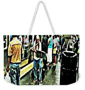 Subway Seranade Weekender Tote Bag
