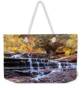 Subway Trail Weekender Tote Bag