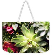 Succulent Beauties Weekender Tote Bag