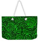 Succulent Green Weekender Tote Bag
