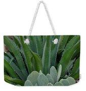 Succulent Greens Weekender Tote Bag