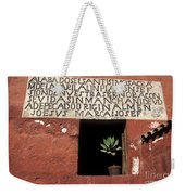 Succulent In Window Weekender Tote Bag