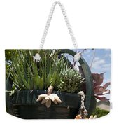 Succulents In A Planter Weekender Tote Bag
