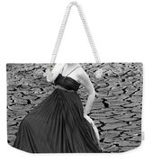An Image Of Elegance Black And White Weekender Tote Bag