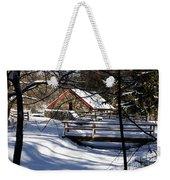Sudbury - Grist Mill In The Woods Weekender Tote Bag