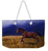 Galloping Horse Painting Weekender Tote Bag