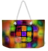 Sudoku Tunnel Abstract Weekender Tote Bag