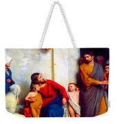 Suffer The Children Weekender Tote Bag