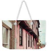 Suffolk Town Houses Weekender Tote Bag