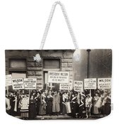 Suffrage Protest, 1916 Weekender Tote Bag