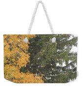 Sugar Maple And Evergreen Weekender Tote Bag
