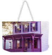 Sugar Plum Purple Victorian Home Weekender Tote Bag