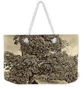 Sugar Shack Sepia Weekender Tote Bag
