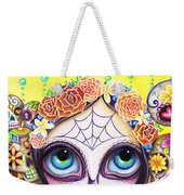 Sugar Skull Princess Weekender Tote Bag