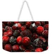 Sugared Cranberries Weekender Tote Bag