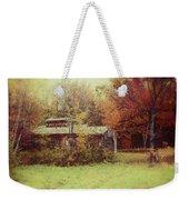 Sugarhouse In Autumn Weekender Tote Bag