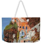 sul mare Greco Weekender Tote Bag by Guido Borelli