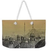 Suleymaniye Mosque And New Mosque In Istanbul Weekender Tote Bag