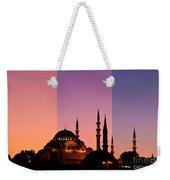 Suleymaniye Sundown Triptych 05 Weekender Tote Bag
