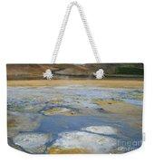 Sulphur And Volcanic Earth Weekender Tote Bag