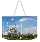 Sultan Ahmed Mosque Landmark In Istanbul Turkey Weekender Tote Bag